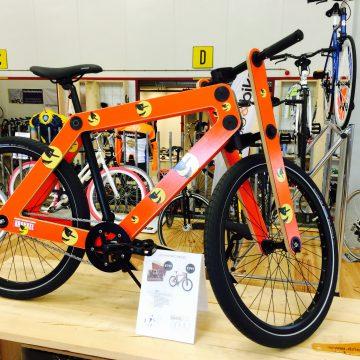 sandwich bike houten fiets