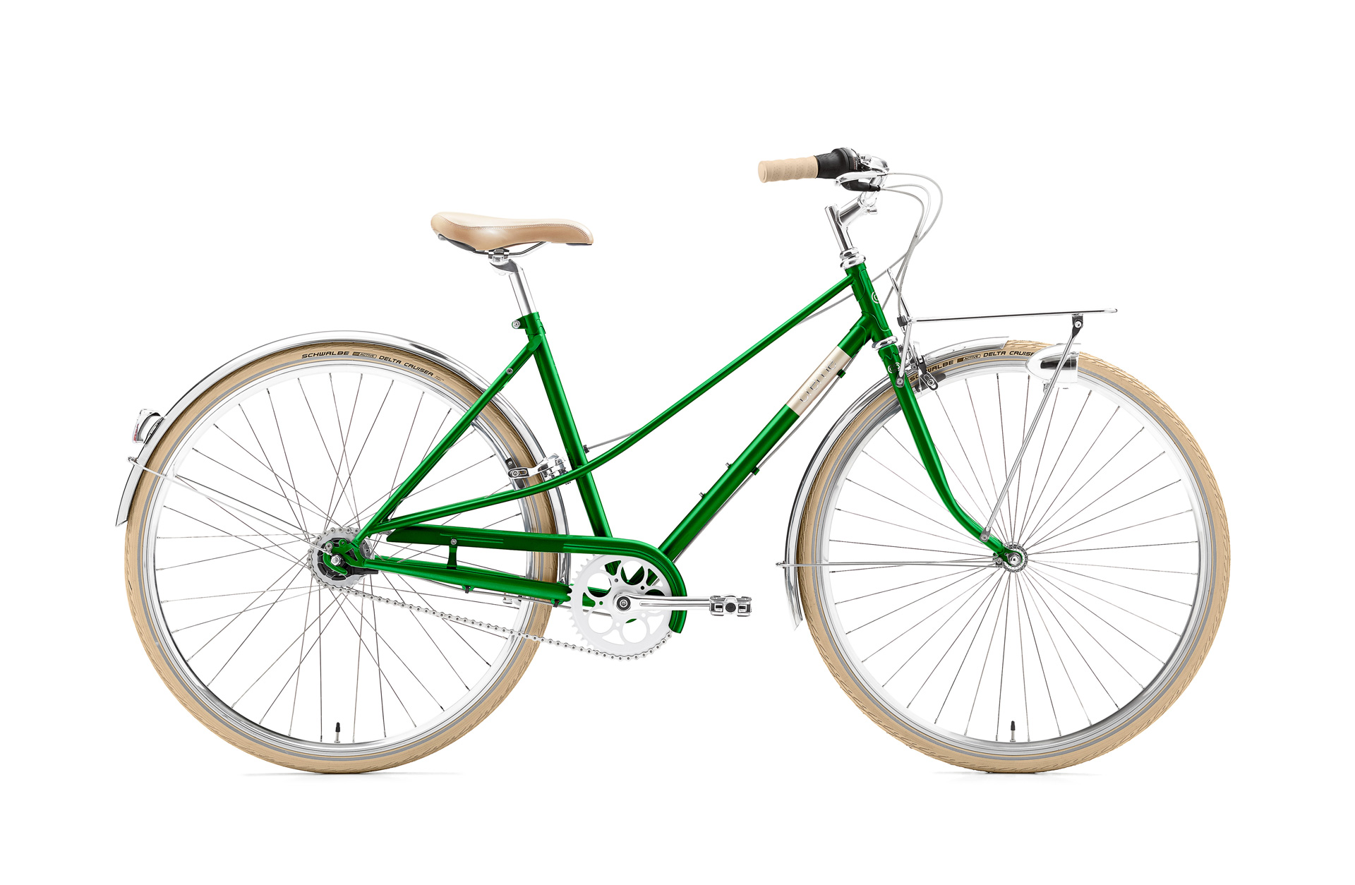 Creme Cycles Caferacer Solo Emerald