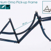 azor fat tire aluminium oma pick up frame 2018