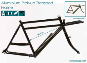 azor fat tire aluminium pick up transport frame 2018