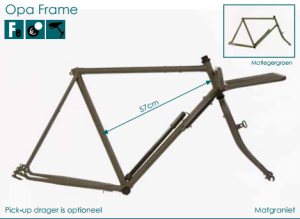 azor fat tire opa frame 2018