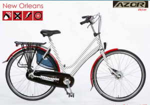 azor stadsfiets new orleans 2018