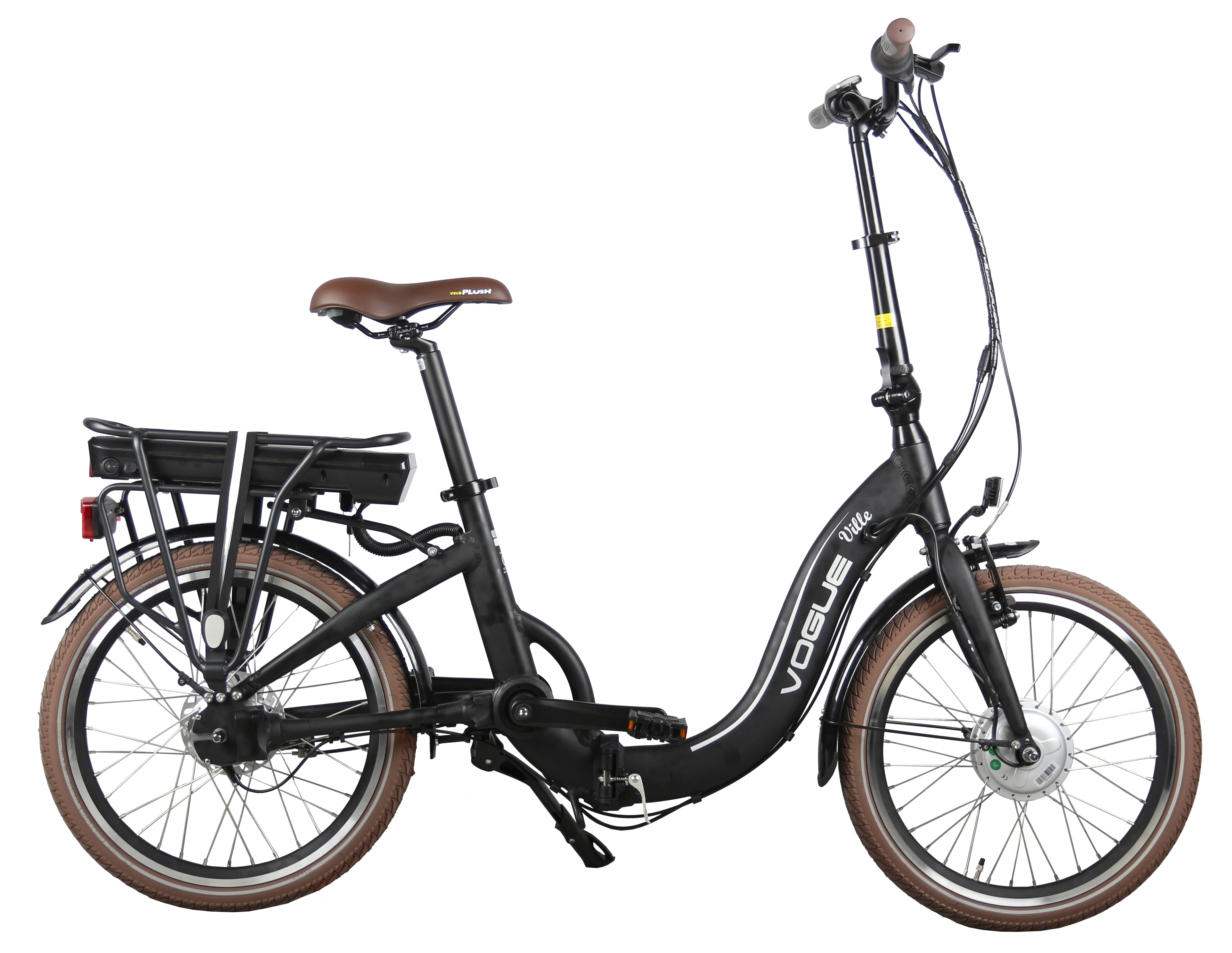 2018 Vogue E-bikes Ville Matt Black