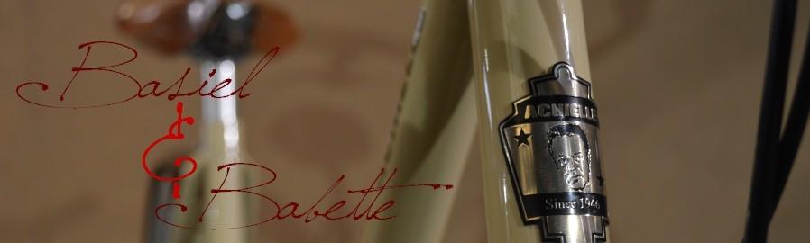 Achielle retro fiets babbette